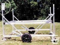 """Fixed Wheel Kit for Boat Lift -18"""" injected molded"""