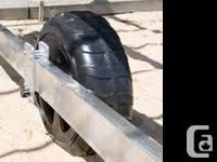 "Fixed Wheel Kit for Boat Lift-24""Wheels&hardware"
