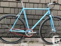Great bike. Flip flop hub let's you switch between