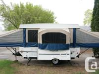 Beautiful, clean, hardly used tent trailer for sale. We