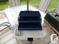 Flambeau 3 Tray Fishing Box - Used but Ok. Has some