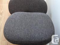 Very solid, ergonomic kneeling chair. Oddly