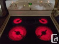 Kenmore ...  >> white ... FLAT TOP ... Convection ...