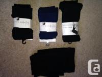 I have 4 pairs of women's fleece lined footless