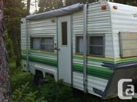 1978 Fleetwood Recreational Vehicle trailer 18'.
