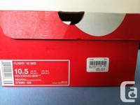 Flight 13 Mids Size 10.5 Asking Price: $100.00 Shoe