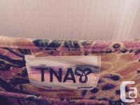 Floral summer dress by TNA for sale. Size small.