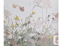 "This ""Flower Lace"" opaque watercolour on paper is"