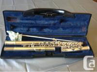 FLUTE STUDENT BUFFET CRAMPON & CIE A PARIS ready for