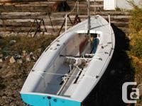 1965 Flying Dutchman. This really fast, fun sloop had