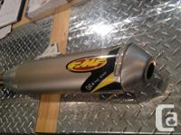 Fitment: 2006-2009 CRF250R Pipe has been used for