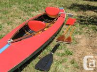 American-made Folboat kayak. Good condition. Includes