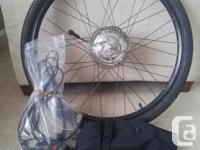 Hill Topper Electric Bike Kit and Folding Bazooka