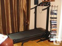 "Folding Treadmill, ""Free Spirit"" version 122 309440"
