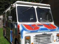 1982 Grumman Kurbmaster Action Van meals truck / 4x8