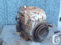 I have a 1960's Tecumseh cast iron engine. It's a very