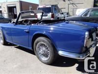 FOR SALE: 1967 Triumph TR4A IRS fully restored. Body
