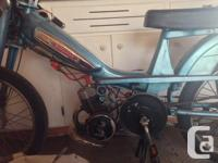 I'm selling my 1978 Motobecane Mobylette moped. It's a