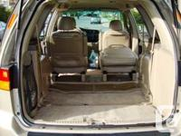 Make Honda Model Odyssey Year 2002 Colour gold kms