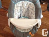 Selling a Carter's baby swing. Very good condition,