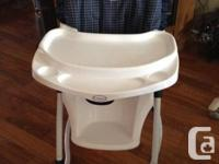 Selling a Cosco high chair. Good condition. Back