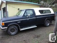 Make. Ford. Year. 1988. Colour. Black. kms. 301672.
