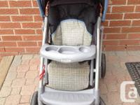 For sale- Graco Quattro tour stroller. Seat reclines,
