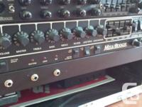 Selling my Mesa Boogie Studio Preamp. Clean unit,