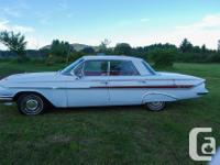 Make Chevrolet Model Impala Year 1961 Colour White kms