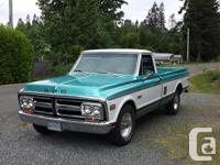 Make Chevrolet Year 1972 Colour green Trans Automatic