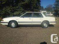 For Sale 1991 Oldsmobile Cutlass Ciera. White. 4 door.