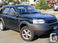 Make Land Rover Model Freelander Year 2002 Colour