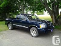 Make Dodge Model Dakota Year 2005 Colour Blue kms
