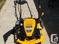 Cub Cadet SC500EZ 21 inch gas mower with 159 cc OHV