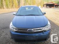 Make Ford Model Focus Year 2008 Colour Blue kms 118000