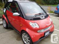 Make Smart Model FORTWO Year 2005 Colour Black and Red