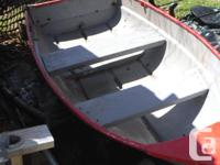 I HAVE A SMALL FIBERGLASS BOAT FOR SALE HAS A TROLLING