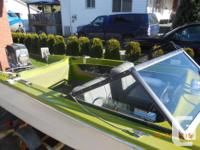 For sale/trade 16' Glascraft boat with a 90hp Mariner