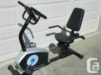 FOR SALE XTERRA RECUMBENT EXERCISE CYCLE-MODEL