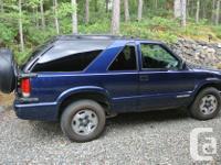 Make Chevrolet Model Blazer Year 2005 Colour Blue kms