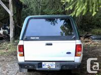 Make Ford Model Ranger Year 1996 Colour White with dark