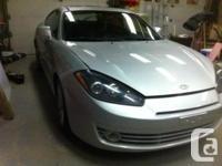 FOR SALE - 2007 Hyundai Tiburon 2.0L 5 Speed standard