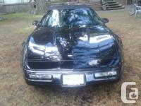 Make Chevrolet Year 1993 Colour Black convertable kms
