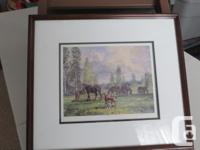 Four framed prints by Peter Etril Synder..