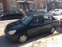 For sale: a black 2003 Toyota Echo in excellent