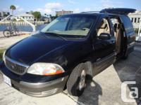I HAVE 2002 FORD WINDSTAR LIMITED. RUNSD GREAT,