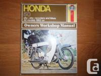 Honda Owner's Workshop Guidebook: 50cc OHV and OHC