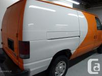 Make Ford Model E-250 Year 2009 Colour White /Orange