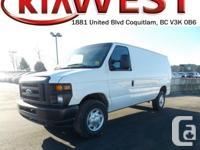 This 2014 Ford Econoline Cargo Van E-250 has simply