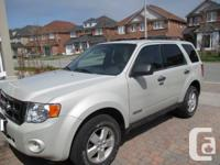 I am selling my 2008 Ford Escape XLT. It is in